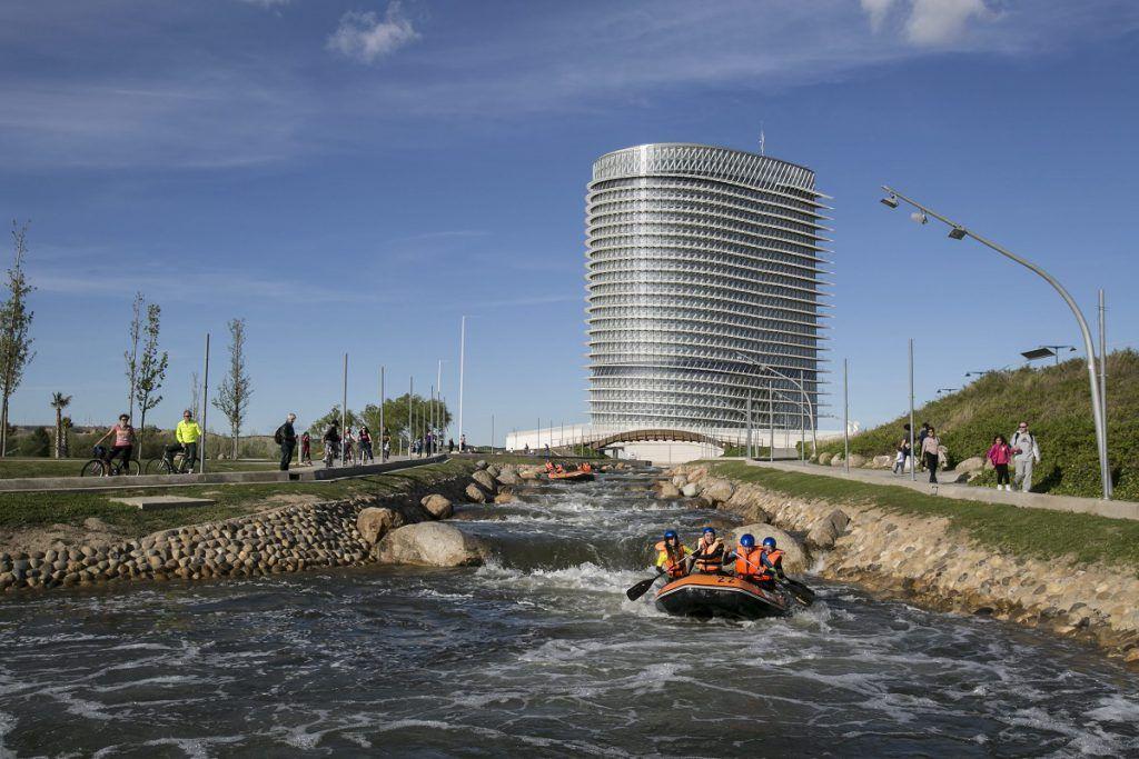 Parque de agua Luis Buñuel, Zaragoza