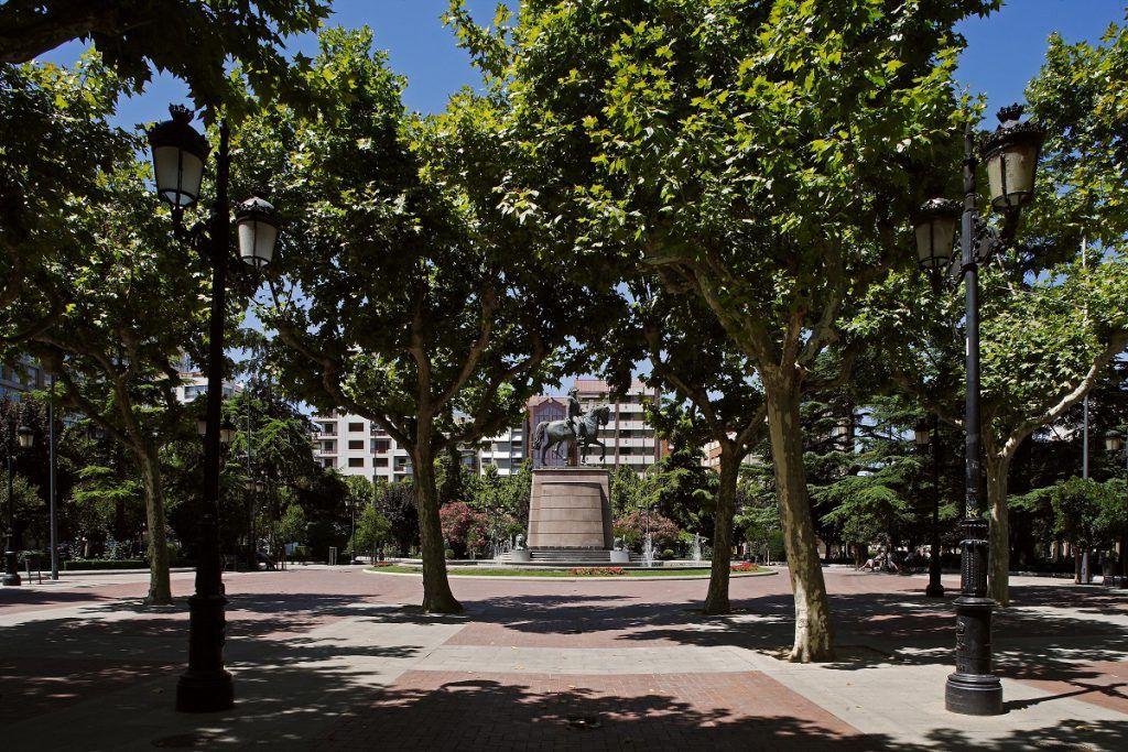 Paseo del Espolón, Logroño