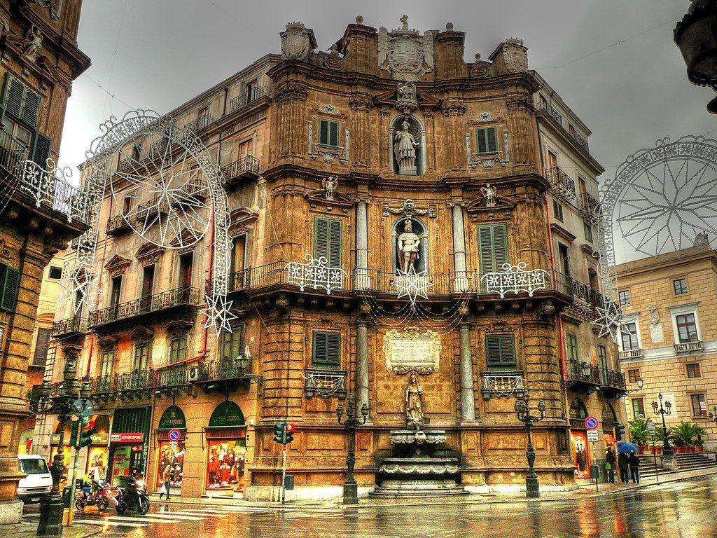 Plaza Quattro Canti, Palermo