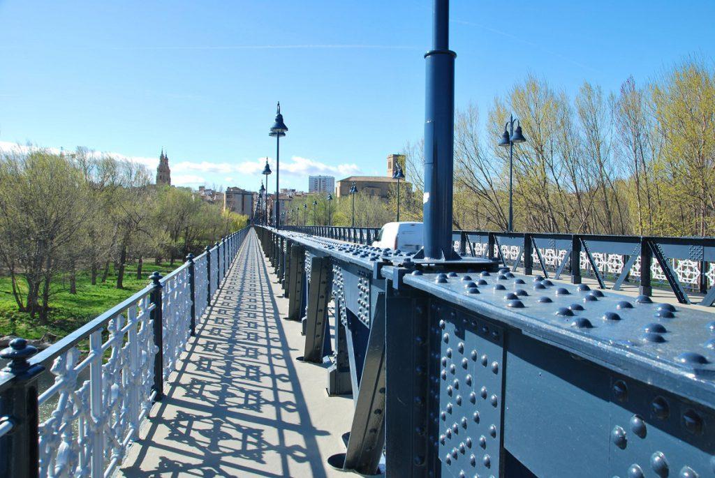 Puente de Hierro de Logroño