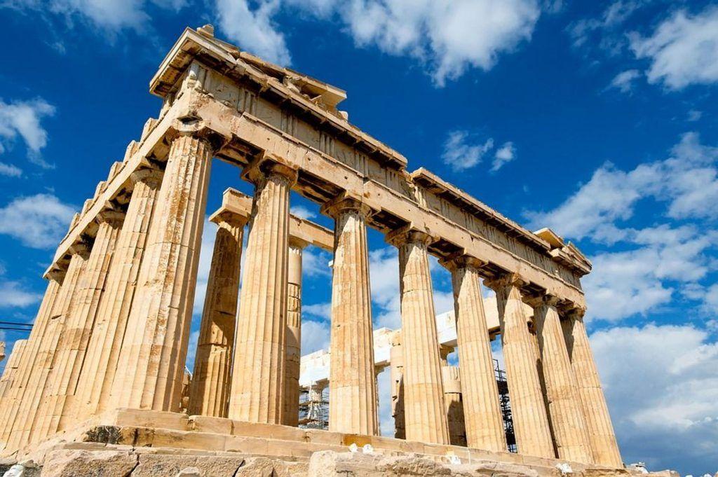 Viajar a Atenas en avión, tren, barco, autobús o coche