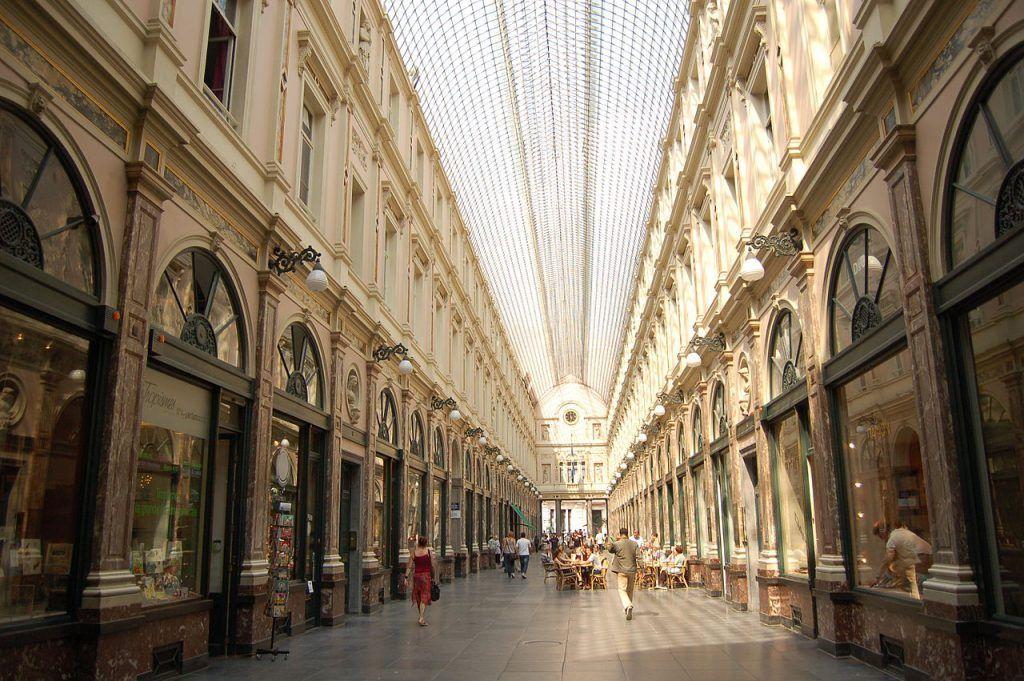 Galerías Reales Saint Hubert, Bruselas