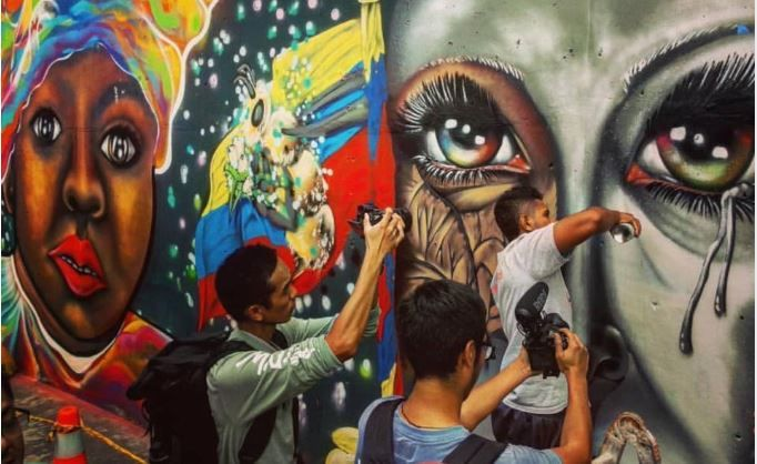 Graffiti Tour en Comuna 13