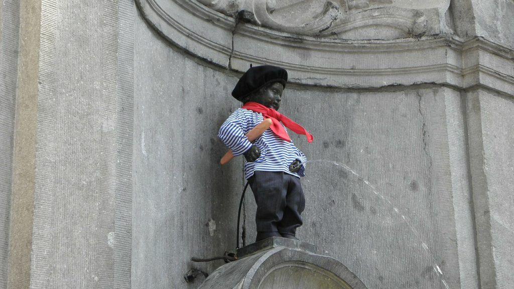 Manneken Pis, Bruselas