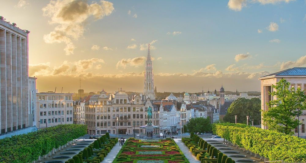Mont des Arts, Bruselas