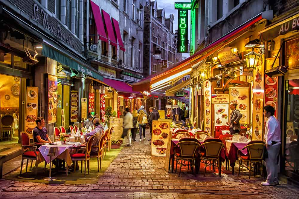 Rue des Bouchers – Beenhouwersstraat