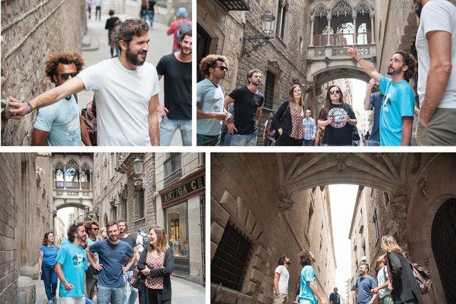 free tour barrio Gótico de Barcelona