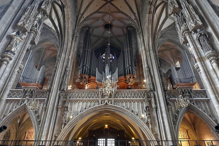 Interior Catedral de Viena