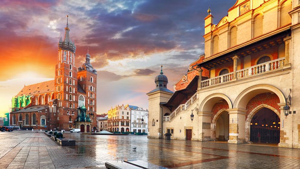 ¿Cómo llegar a Cracovia?