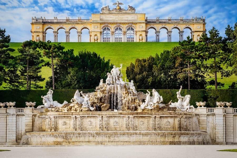 Fuente Neptuno del Palacio Schonbrunn, Viena