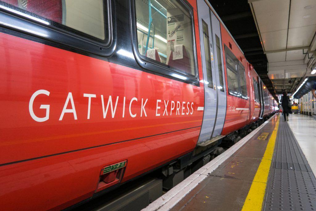 Aeropuerto de Gatwick Express al centro de Londres
