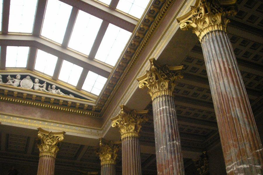 interior del Parlamento de Austria
