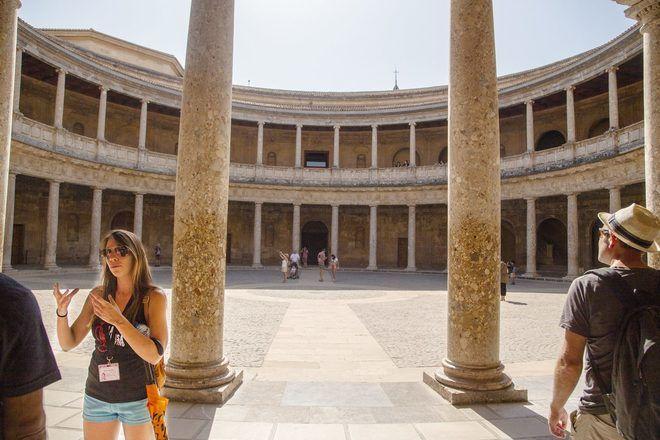 Granada a pie, La Alhambra