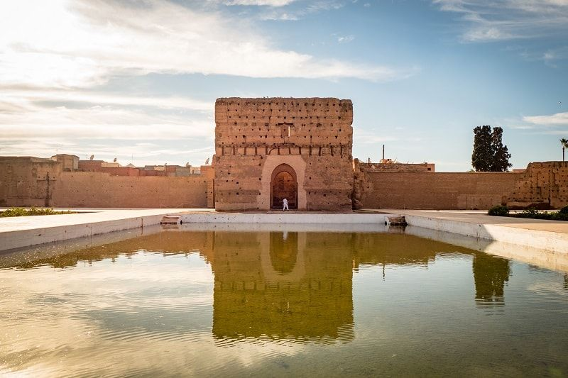 Palacio El Badi, Marrakech