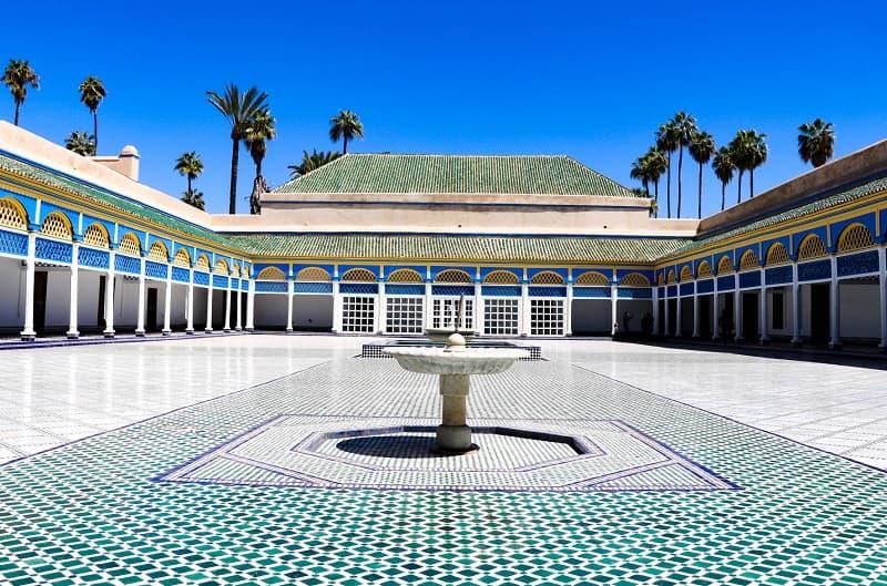 Palacio Bahía, Marrakech