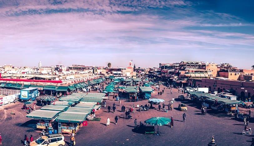 Plaza de Jamaa el Fna, Marrakech
