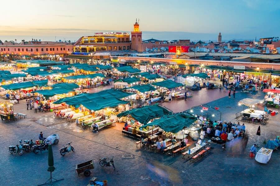 Top mejores lugares que ver en Marrakech