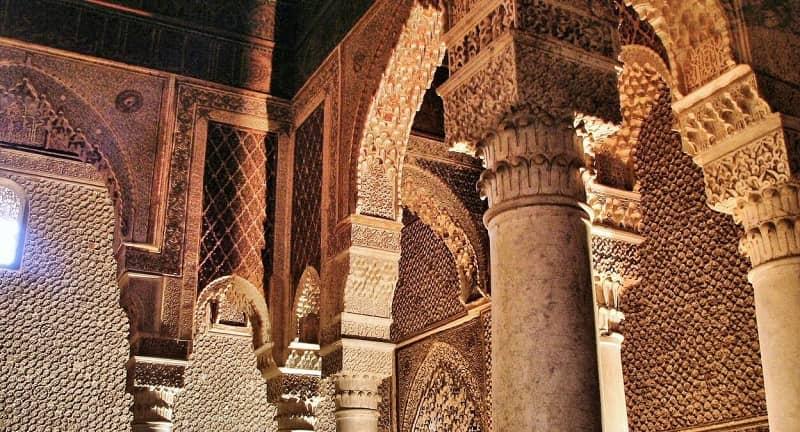 Tumbas Saadíes, Marrakeck